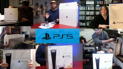 PS5 Launch - Editors receive the console